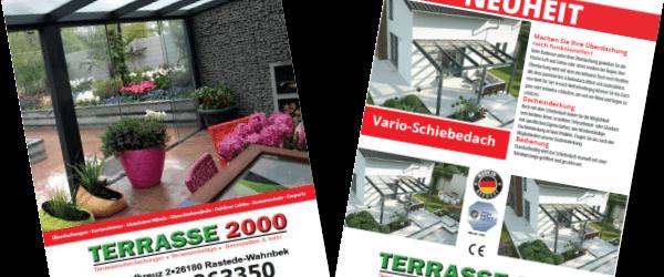 Terrassenüberdachung Katalog 2017