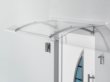 Pultvordach 150x90x22 cm Anthrazit