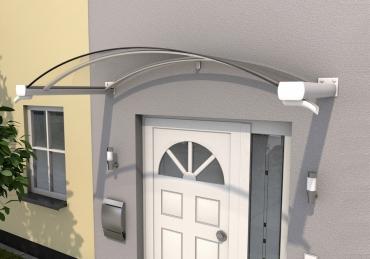 Haustürvordach Bogenvordach BV/B 200x90x30Maße: 200 x 90 x 30 cm (BxTxH)