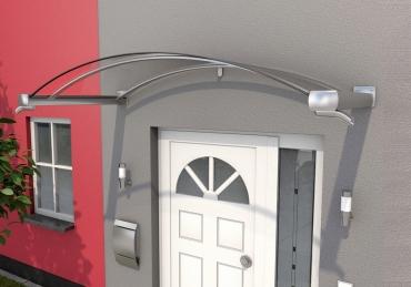 Haustürvordach Bogenvordach BV/B 160x90x32Maße: 160 x 90 x 25 cm