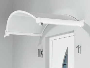 Haustürvordach Ovalbogenvordach OV/B 160x90x30