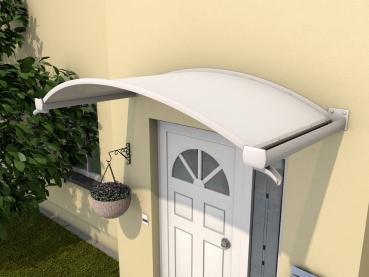 Haustürvordach Ovalbogenvordach OV/B 200x90x30