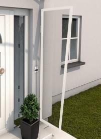 Seitenblende 200x60/45 cm Anthrazit