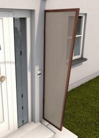 Seitenblende 200x 60/45 cm Braun